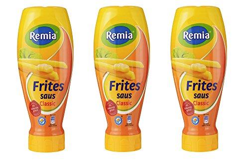 3 x Remia Holländischer Frittensoße 500ml