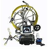 Envío 100M 360 Grado cámara alcantarillado tubería inspección cámara 700 TVL con 8 ' ' Pantalla LCD Digital