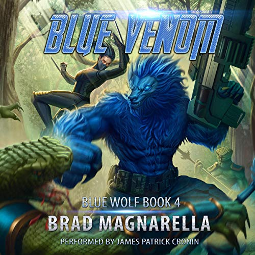 Blue Venom audiobook cover art