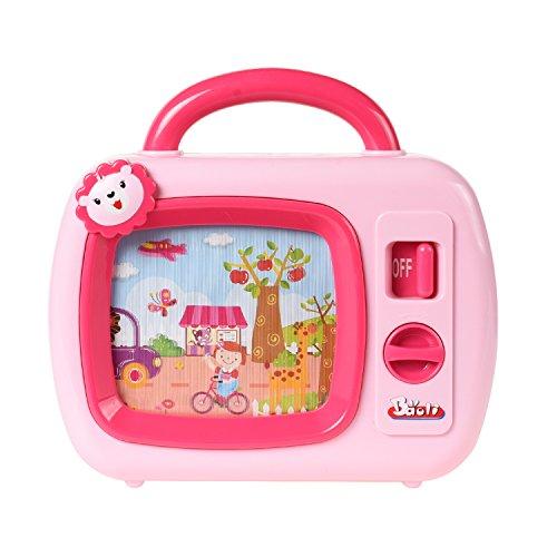 Baoli Wind Up Musik TV Spielzeug mit Moving Screen für Kind Kind Baby