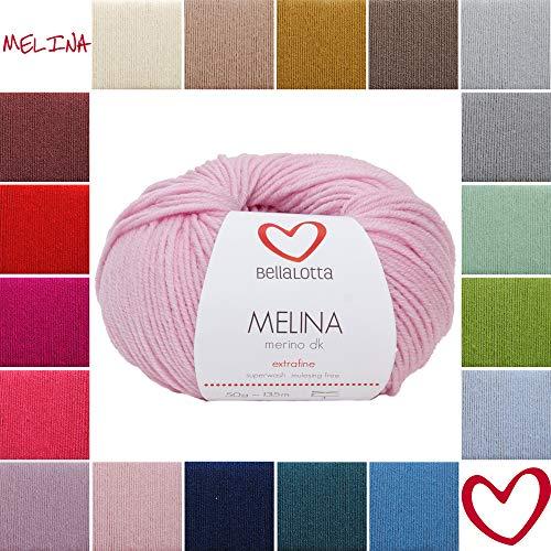 BellaLotta Melina Merino DK Babywolle 135m/50g (Rosa)
