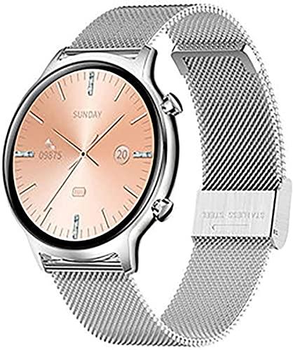 wyingj Reloj inteligente para mujer con podómetro de actividad IP68, resistente al agua, para Android Smart Watch-D