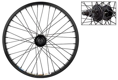 "Weinmann DM30 BMX Rear Wheel - 20"" x 1.75, 9T Driver Hub, 36H, Black"