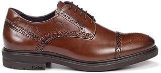 Fluchos | Vestir de Hombre | BELGAS F0629 Sierra Castaño Zapato de Vestir | Vestir de Piel de Vacuno de Primera Calidad | ...