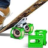 Skateboard Trick Trainer (4-Pack, Green)...