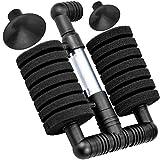 Kupink Filtro Bioquímico Esponjas para Acuario de Peces Aire Filtro Oxígeno Bio Compacto para Tanque Peces Piscina 120L
