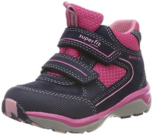 Superfit Mädchen SPORT5-509239 Hohe Sneaker, Blau (Blau/Rosa 82), 25 EU