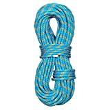 PHRIXUS 10.5mm Dynamic Climbing Rope 45M(150FT) 60M(200FT) Nylon Kernmantle Single Rope CE/UIAA