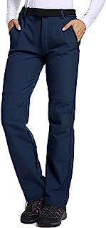Asfixiado Women's Casual Outdoor Quick Dry Pants Convertible Hiking Camping Fishing Zip Off Durable Trousers #6063