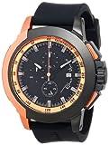 Ritmo Mundo Unisex 1101/5 Rose Gold Quantum Sport Quartz Chronograph Aluminum Accents Watch