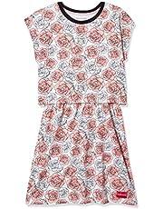 فستان تي شيرت للفتيات من كالفن كلاين