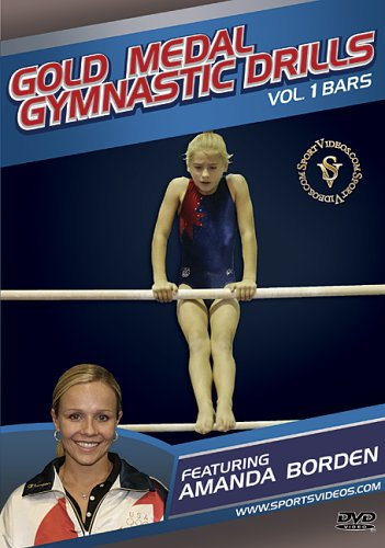 Gold Medal Gymnastics Drills: Bars DVD featuring Coach Amanda Borden