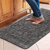 KMAT Kitchen Mat Cushioned Anti-Fatigue Floor Mat Waterproof Non-Slip Standing Mat Ergonomic Comfort Floor Mat Rug for Home,Office,Sink,Laundry,Desk 20'(W) x 39'(L),Grey