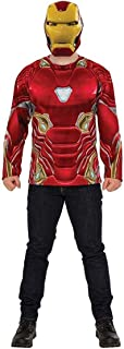 Rubie's Men's Marvel Avengers Infinity War Iron Man Costume Top and Mask, X-Large