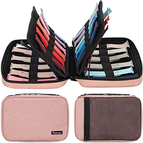 PACMAXI 36 Watch Bands Storage Carrying Case Compatible with Watches Watch Band Holder Stores product image