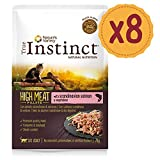 True Instinct High Meat Pack de 8 Fillets avec Saumon Scandinave/Légumes pour Chat 70 g