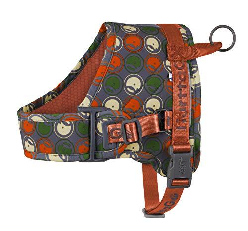 Hurtta Go Harness Hundegeschirr gepolstert, für kleine und große Hunde, vorne verstellbar, mit...
