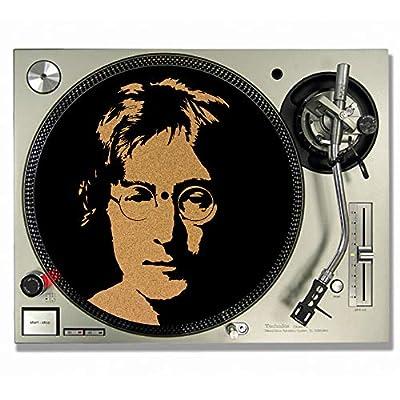 John Lennon CORK DJ SLIPMATS/Turntable SLIP MATS - Vinyl