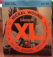 D'Addario/ダダリオ EXL110-3D エレキギター弦 3セットパック×4パック(計12セット)