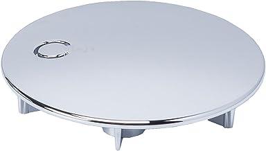 Viega Domoplex Afdekhoes verchroomd diameter 75 mm, Model: 6930.0 passend bij Domoplex 52 mm Viega afvoergarnituur vertica...