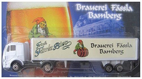 Fässla Bamberg Nr.01 - Trink Fässla Bier - MB 1320 - Sattelzug Oldie #