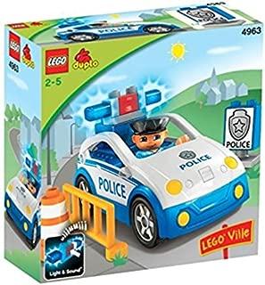 レゴ (LEGO) デュプロ パトロールカー 4963
