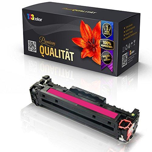 Print-Klex Alternative Tonerkartusche für HP Color LaserJet CM2320EI MFP Color LaserJet CM2320FXI MFP Color LaserJet CM2320N MFP CC533 A Rot Magenta