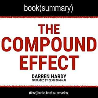 Page de couverture de Summary of The Compound Effect