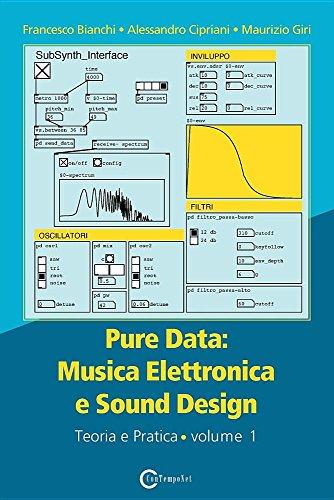 Pure data: musica elettronica e sound design: Musica Elettronica e Sound Design - Teoria e Pratica - Volume 1
