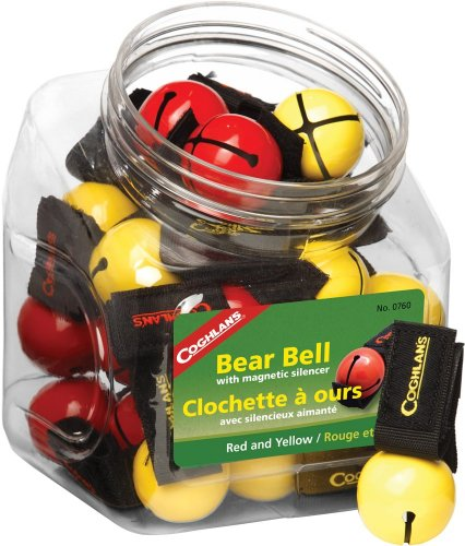 Coghlan's Pack of 20 Bear Bells with Bowl for Camping