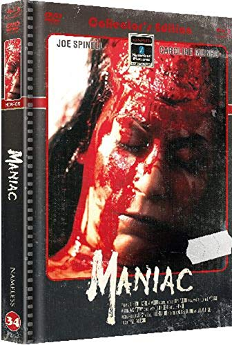 Maniac - Mediabook - Cover B - Limited Uncut 555 Edition (4K UHD+DVD+3x Blu-ray Disc+CD)