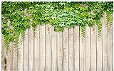 Fototapete 3d effekt Tapete 3d wallpaper Benutzerdefinierte High-End-3D-Wandbilder Wallpaper für Wände 3 d Ein Efeu auf einem Brett Hintergrund Tapete Landschaft Tapetendekor