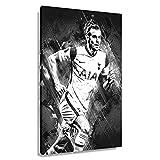 Fußballstar Gareth Bale Poster Kunstdrucke Gemälde