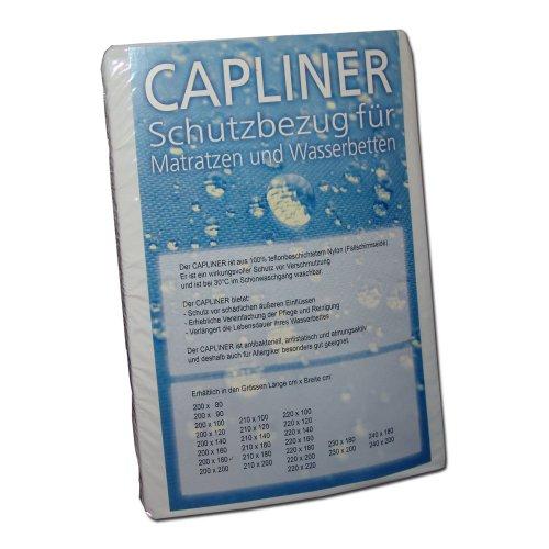 Wasserbetten1a Capliner Schonbezug 200 x 220 cm