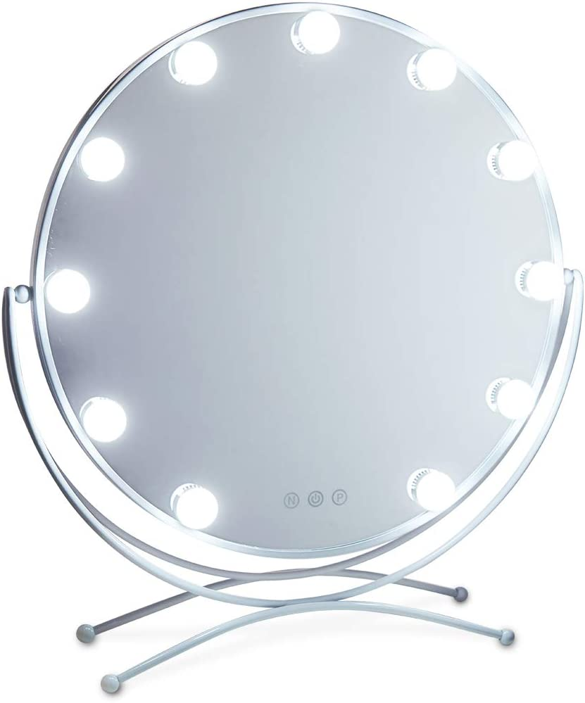 GeekHouse Lighted Vanity Mirror Style Hollywood Manufacturer direct delivery Makeup Large special price !! Tabletops