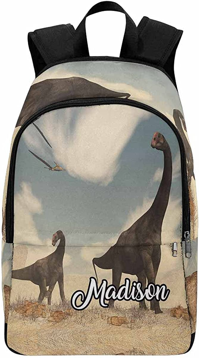 Quality inspection Personalized Giraffe with Glasses Name Backpack Bag Colorado Springs Mall Flowers