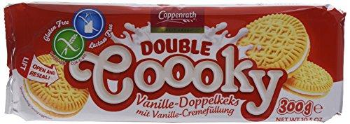 Coppenrath Galletas Vainilla sin Gluten - 7 Paquetes de 300 gr - Total: 2100 gr