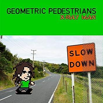 Geometric Pedestrians
