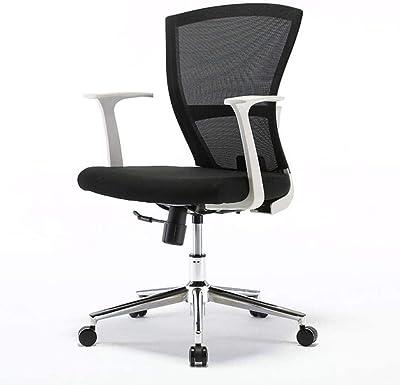 DALIBAI Cadeira de trabalho de elevação giratória, descansos de braço, cadeira de mesa ergonômica de malha para casa