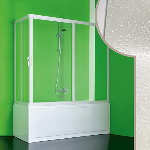 Forte BS371000001 Skipper Baignoire d'angle réversible en PVC acrylique Blanc 70 x 160 x 150 cm