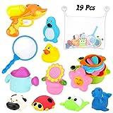 BBLIKE Badespielzeug, Badewannenspielzeug-Aufbewahrungstasche, Wasserpistole, Fischernetz,...