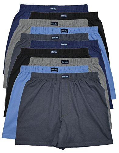 MioRalini 10 Boxershort Baumwolle Artikel: ohne Eingriff B, Groesse: 4XL-10