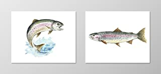 Best rainbow fish painting Reviews
