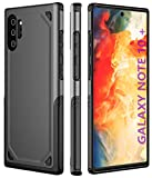 MYJOJO Samsung Galaxy Note 10+ Case Note 10 Plus Case, 【2019 New】 Shock Absorption Technology Bumper Protective Case for Samsung Note 10+/10 Plus 6.8inch(Black)