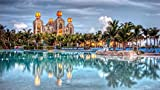 KCHUEAN 1000 Teile Puzzles Rätsel Für Erwachsene Bahamas Nassau Dekoration Für Das Heimenspiel Lernspielzeug Für Kinder Und Erwachsene