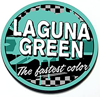 Artistic Reflection Laguna Green - Magnetic Grill Badge for Mini Cooper