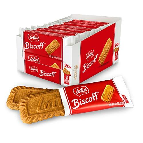 Lotus Biscoff Cookies 40 Cookies (2 Packs)