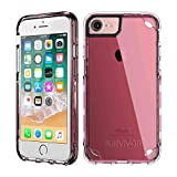 Griffin Survivor Strong funda para teléfono móvil Rosa, Translúcido - Fundas para teléfonos móviles (Funda, Apple, iPhone 7+/6s+/6+, Rosa, Translúcido)