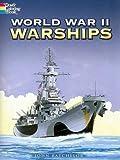 world war 2 coloring book - World War II Warships