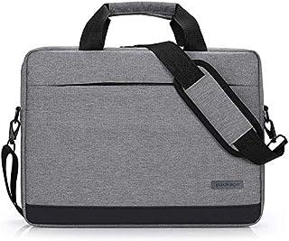 Laptop Bag 14,15,15.6 Inch Briefcase Shoulder Messenger Bag Water Repellent Laptop Bag Satchel Tablet Bussiness Carrying Handbag Laptop Sleeve for Women and Men Casual Vintage Style Elise